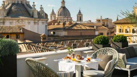 Divinity Restaurant, Rome