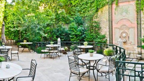 El Jardín de Orfila por Mario Sandoval  -  Hotel Orfila, Madrid