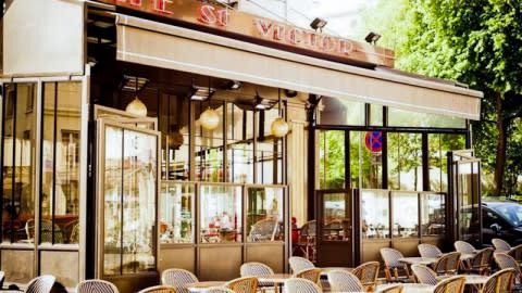 Café St Victor, Paris