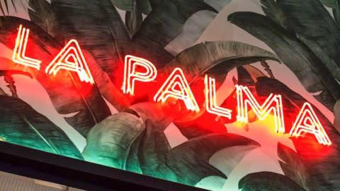 Gran Café La Palma, Teia