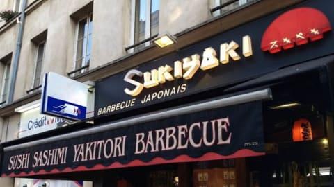 Sukiyaki, Paris