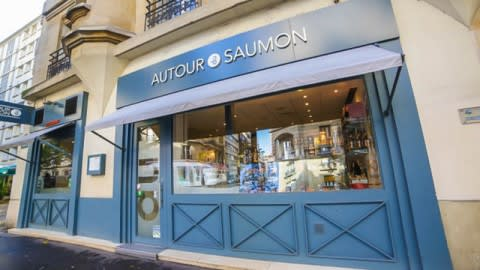 Autour du Saumon Convention, Paris
