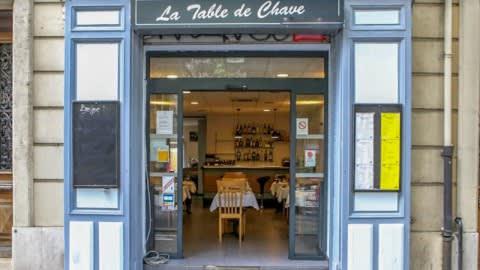 La Table de Chave, Marseille