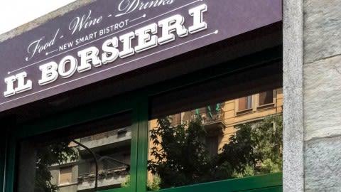 Il borsieri, Milan