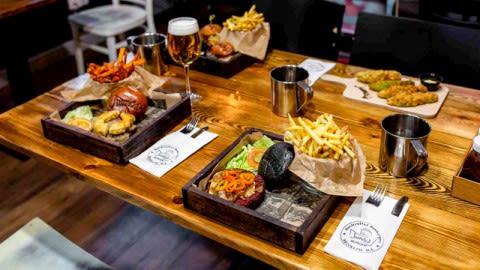 Juanchis Burgers Malasaña, Madrid