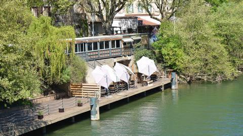 les terrasses de l'île barbe, Lyon
