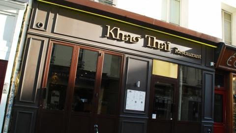 Khao Thaï, Paris