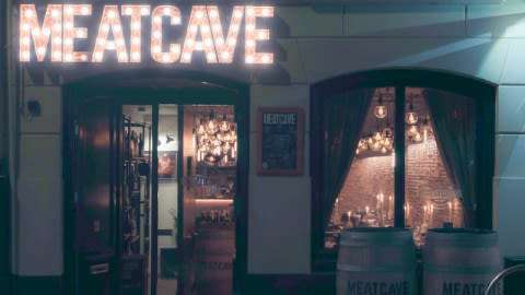 Restaurant Meatcave, Rotterdam