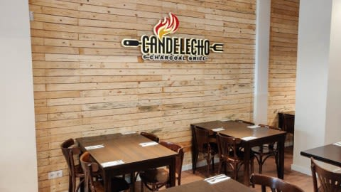 Candelecho charcoal grill, Barcelona