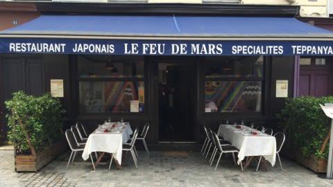Le Feu de Mars, Paris
