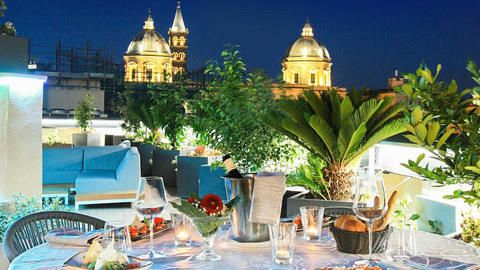 The Hive Rooftop Restaurant, Rome