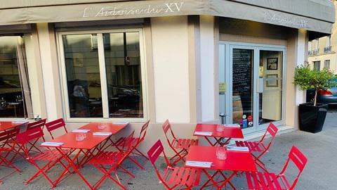 L'Ardoise du XV, Paris