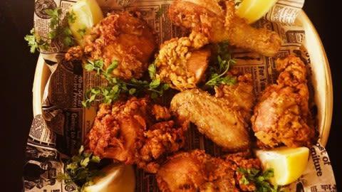 Garden fried chicken, Madrid