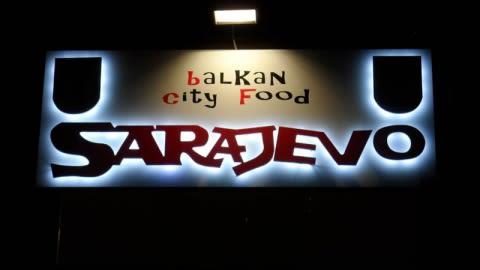 Sarajevo Balkan City Food, Turin