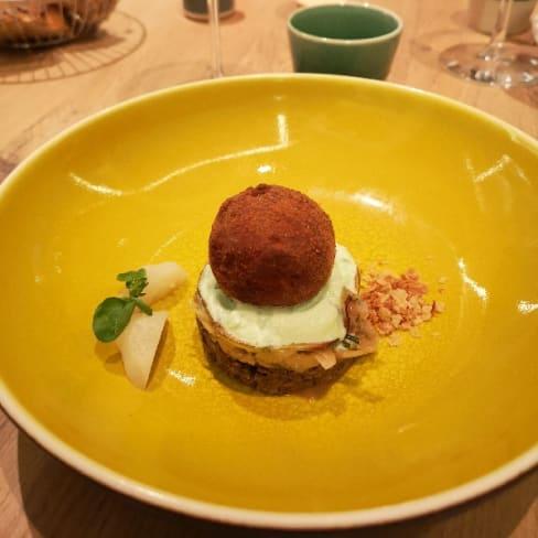 Cuisine Et Dependances By Fabrice Bonnot In Lyon Restaurant