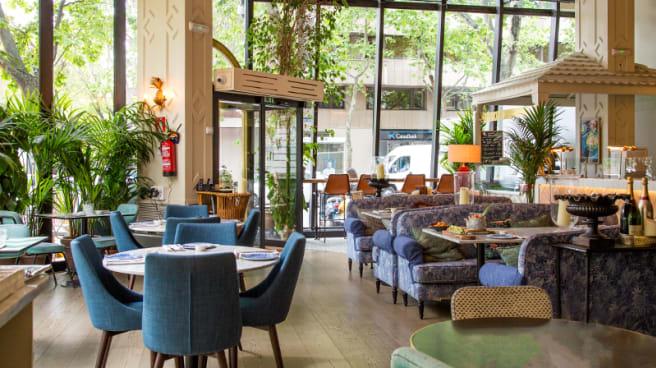 Restaurante Sushita Cafe Miguel Angel En Madrid Almagro