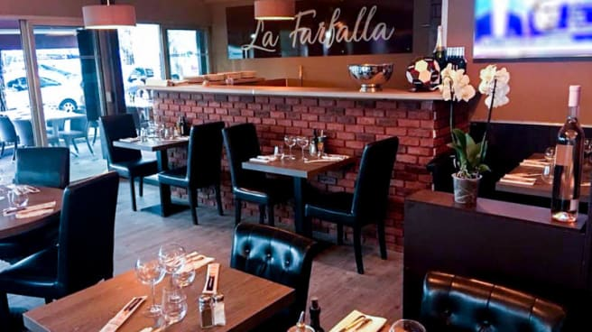 La Farfalla In Villeneuve Loubet Restaurant Reviews Menu And