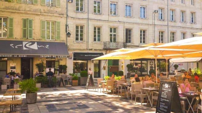 Restaurant La Scene A Avignon 84000 Menu Avis Prix Et