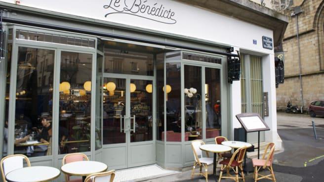 Restaurant Le Bénédicte à Rennes 35000 Menu Avis Prix