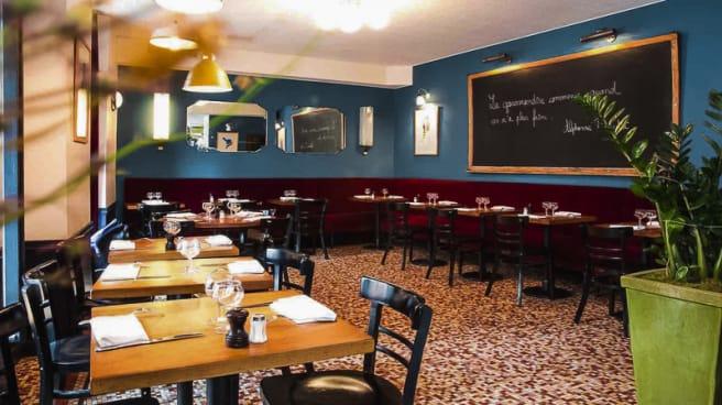 Restaurant Georgette A Paris 75006 Saint Germain Des Pres