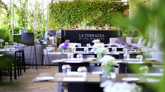 Restaurant La Terrazza Di Via Palestro à Milan Menu Avis