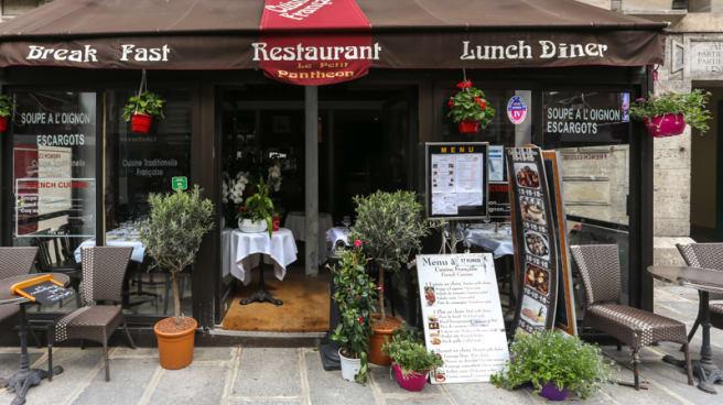 Le Petit Pantheon In Paris Restaurant Reviews Menu And Prices