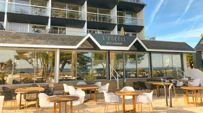 L Eskell Le Diana Hotel Spa Nuxe In Carnac Restaurant
