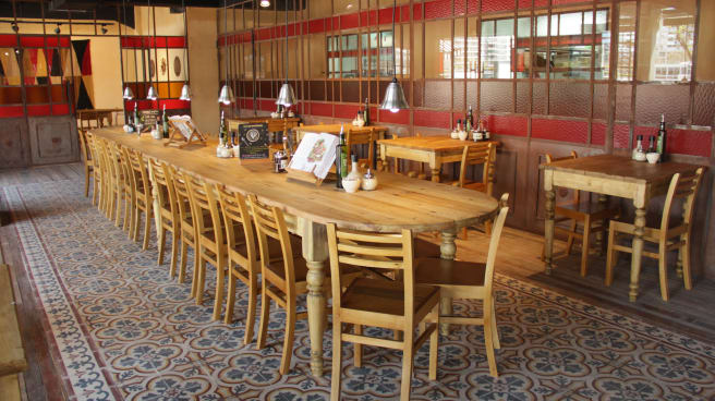 Restaurante Le Pain Quotidien Puerto Madero En Buenos
