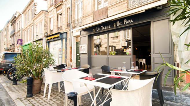 La Table De Papa In Bordeaux Restaurant Reviews Menu And Prices