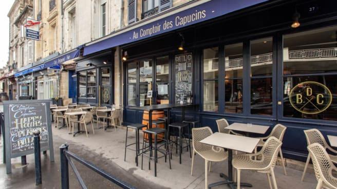 Restaurant Au Comptoir Des Capucins à Bordeaux 33800