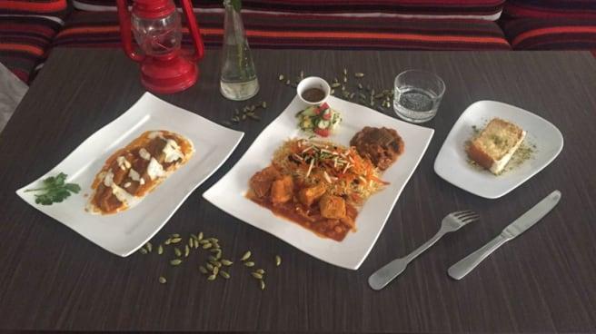 Restaurant La Table Afghane à Paris 75014 Alésia Menu